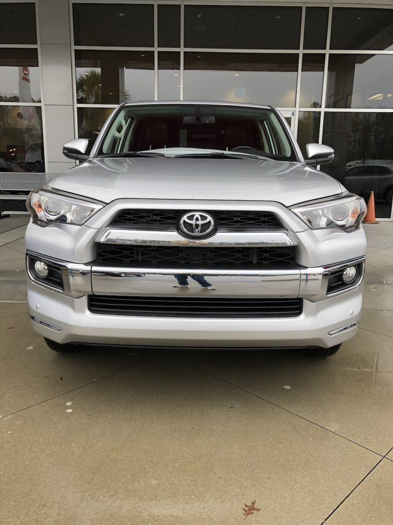 Toyota 4runner with holster